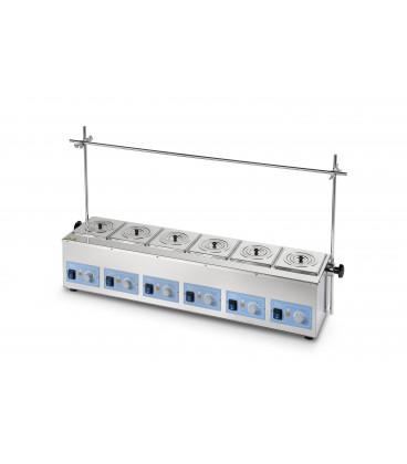 Bains thermostatiques multipostes  a eau